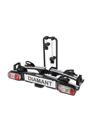 Diamant SG2 - Geschikt voor 2 E-Bikes - Kantelbaar - Inklapbaar- Fietsendrager