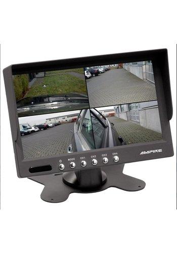 Ampire 7 inch quad monitor