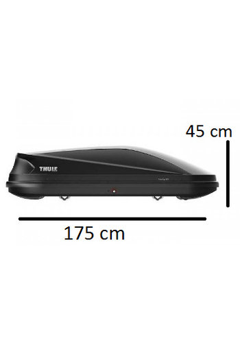 Thule Touring M (200) - Anhtracite Aeroskin
