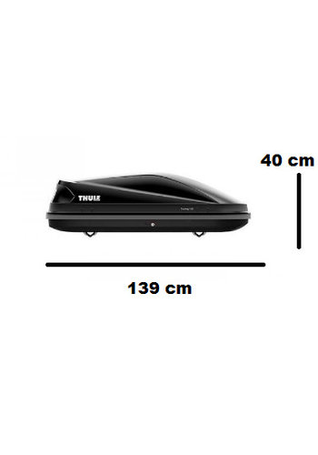 Thule Touring S (100) - Black Glossy