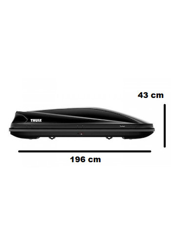 Thule Touring L (780) - Black Glossy - 420 Liter