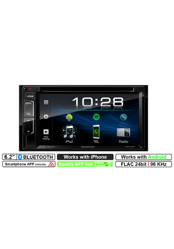 Kenwood DDX318BT - 6.2'' Scherm - 2DIN Multimedia systeem