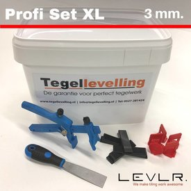 Levelling Starters kit 3 mm. Profis Set XL. Levlr.