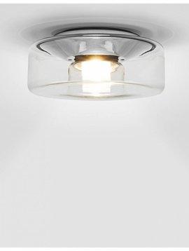 Seriën Curling plafondlamp transparant
