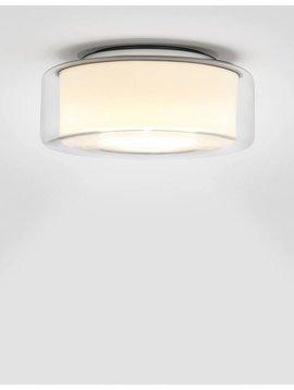 Seriën Curling plafondlamp Transparant Cilinder Opaal