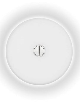 Flos Mini Button Wand/Plafondlamp