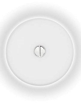 Flos Mini Button wand/plafondlamp