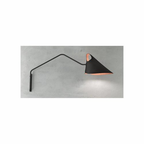 Jacco Maris Mrs.Q Coated Steel Wandlamp
