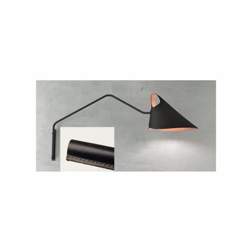 Jacco Maris Mrs.Q Totally Leather Wandlamp