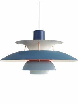 Louis Poulsen PH 5 hanglamp  blauw