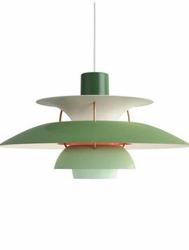 Louis Poulsen PH 5 hanglamp  groen