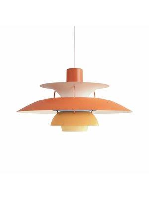 Louis Poulsen PH 5 hanglamp oranje