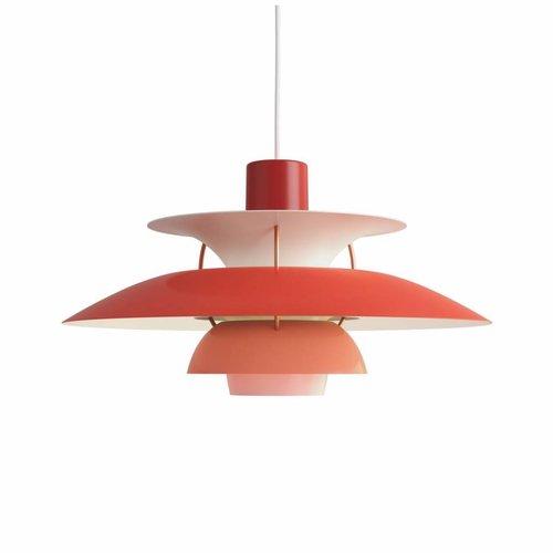 Louis Poulsen PH 5 hanglamp rood