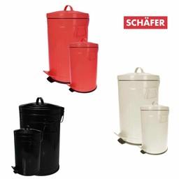 SCHÄFER Pedaalemmer Set, 3+12 liter
