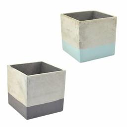 NON. Bloempot Cement 16,5 cm