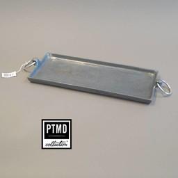 PTMD Aluminium Dienblad Grijs