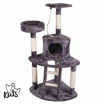 Katten Krabpaal Action In Het Grijs Trollshop