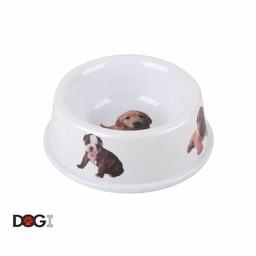 DOGI Voerbak met honden afbeelding