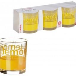 CERVE Drinkglazen LEMON, 220 cl