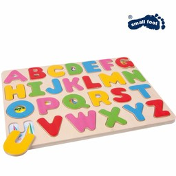 "Small Foot Houten Puzzel ""Letters""."