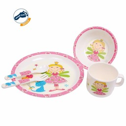 Small Foot Kinderservies Prinses, 5-delige set