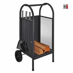HI Haardhoutwagen, 4-delige set