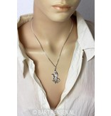 Sphinx pendant - sterling silver