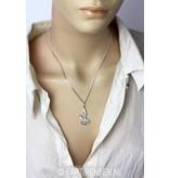 Spfinx pendant - sterling silver