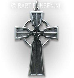 Keltisch kruis hanger - zilver