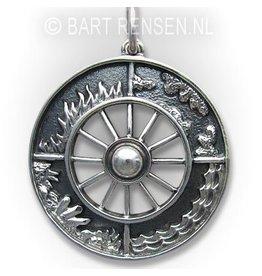 Four Elements pendant - silver