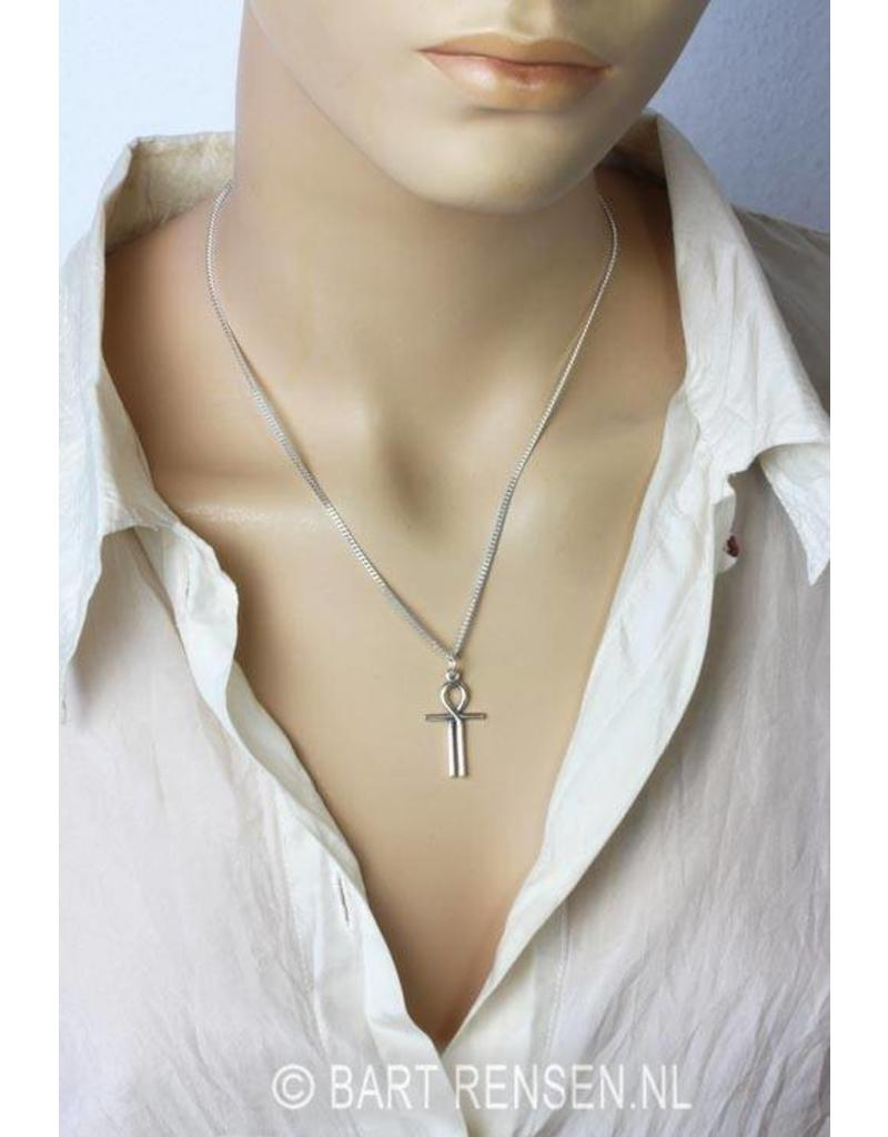 Ankh of Isis Pendant - sterling silver