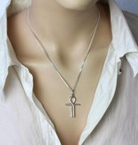 Ankh of Isis Pendant - Silver 925