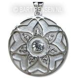 Mandala hanger - echt zilver