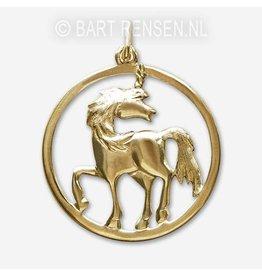 Unicorn pendant - gold