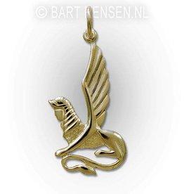 Gouden Sfinx hanger