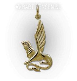 Sphinx pendant - gold