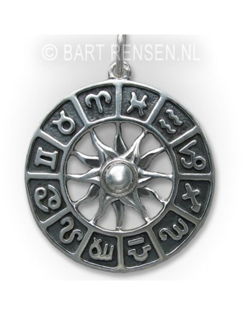 Horoscope pendant - 14 carat gold
