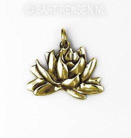 Lotus pendant - gold