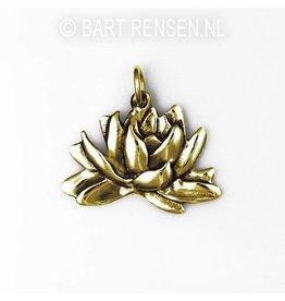 Gouden Gouden Lotus hanger