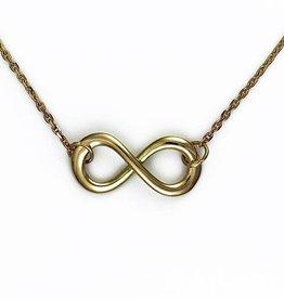 Infinity-Lemniscate - gold
