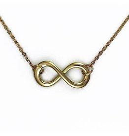 Gouden Infinity hanger