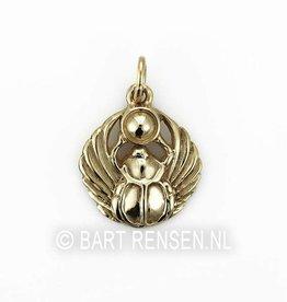 Scarab pendant - gold