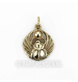 Golden scarabee pendant