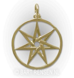 Seven-star pendant - gold
