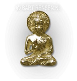 Buddha pendant - gold