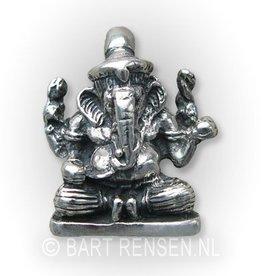 Ganesha pendant - gold