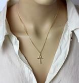 Ankh of Isis pendant - Gold 585