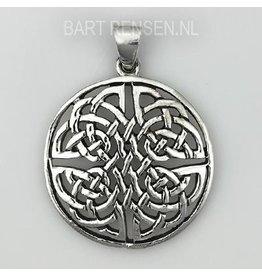 Keltische Knoop hanger - zilver