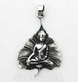 Buddha tree leaf - silver