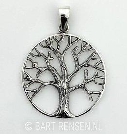Tree of life pendant - silver